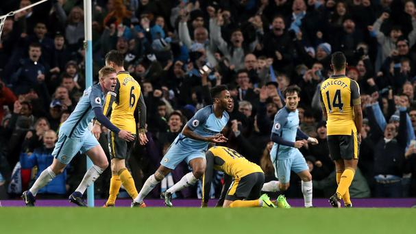 Manchester City see off Arsenal with stirring comeback