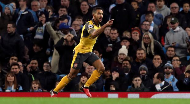Arsenal wasted Theo Walcott's early opener at Manchester City