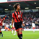 Nathan Ake was on loan at Bournemouth