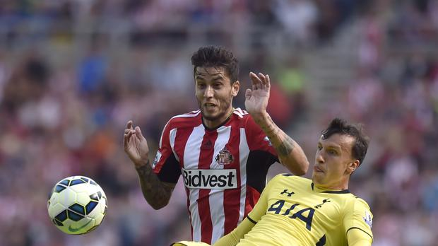 Ricky Alvarez, pictured, is at the centre of a wrangle between Sunderland and Inter Milan