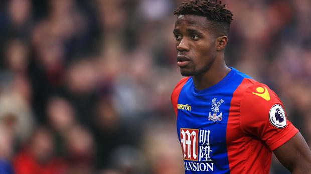 Crystal Palace's Wilfried Zaha has been linked with Tottenham