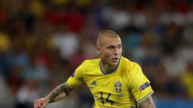 Sweden defender Victor Lindelof has been linked with Manchester United