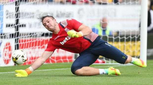 Jack Butland has suffered another set back