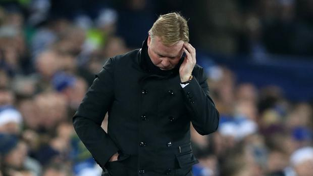 Everton manager Ronald Koeman is having a difficult time balancing the players' training and family needs over Christmas