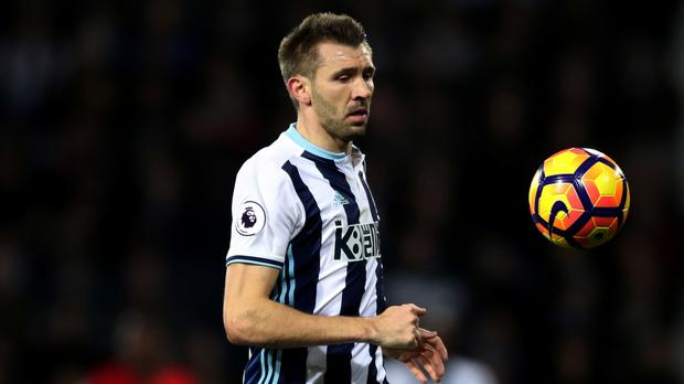 Gareth McAuley has started all 17 of West Brom's Premier League games this season
