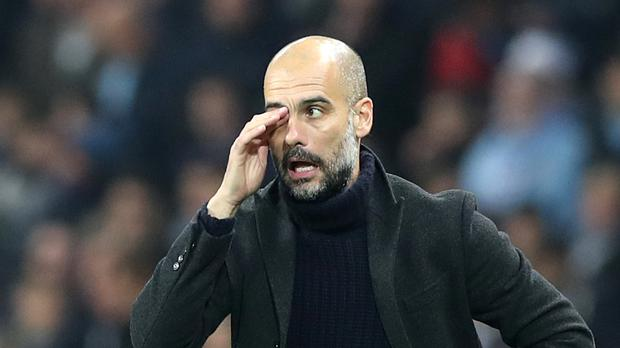 Conceding goals has been a problem for Pep Guardiola's Manchester City