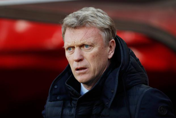 Moyes, whose Sunderland side are third bottom of the Premier League, has called managing United