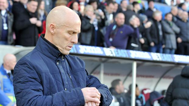 Bob Bradley ran out of time as Swansea manager after just 85 days in charge.