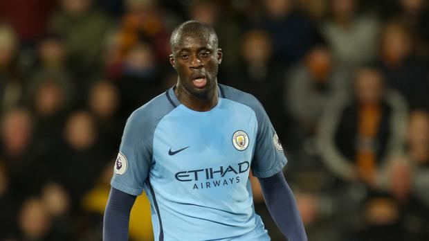 Yaya Toure is back at the heart of Manchester City's challenge