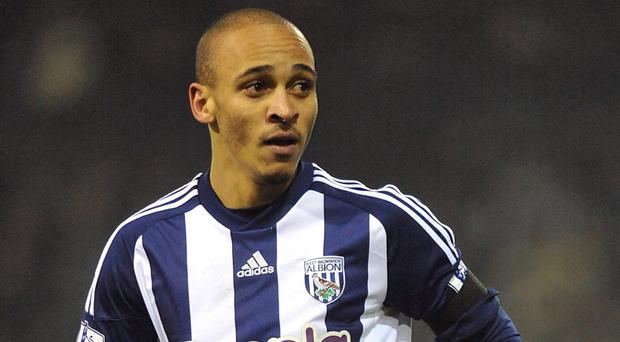 Peter Odemwingie was unsuccessful in his attempts to force a move from West Brom to QPR