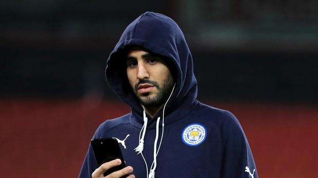 Riyad Mahrez could return to the Leicester starting XI