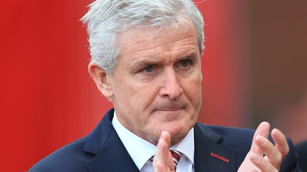 Mark Hughes' Stoke take on a Chelsea side who have won 12 Premier League games in a row