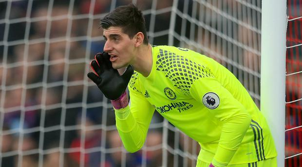 Antonio Conte insists Chelsea goalkeeper Thibaut Courtois is staying at Stamford Bridge