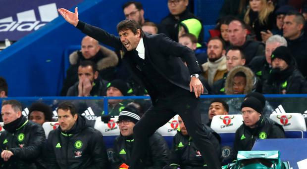 Not many people predicted Chelsea to be top of the table at this stage, but under Antonio Conte they have shown a determination to stay there. Photo: Getty Images