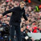 Jurgen Klopp guided Liverpool to a fourth successive win