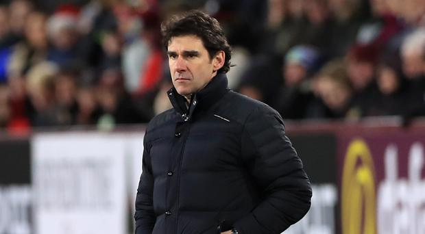 Middlesbrough manager Aitor Karanka is targeting a return to winning ways against Leicester