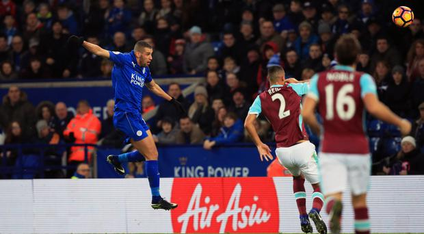 Islam Slimani scored Leicester's winner in their 1-0 victory over West Ham on Saturday