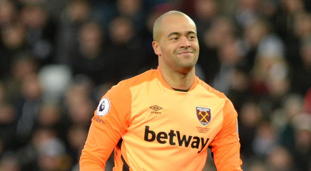 West Ham's Darren Randolph was beaten by Islam Slimani in the Hammers' 1-0 defeat at Leicester on Saturday