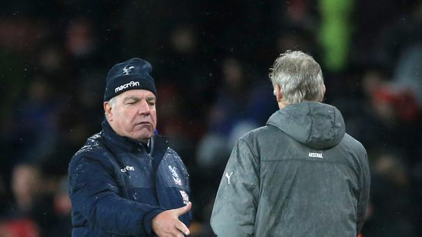 Sam Allardyce is an example of aspiring young managers says Arsene Wenger