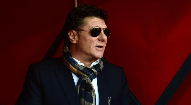 Watford manager Walter Mazzarri believes he is close to reaching his first objective of the season