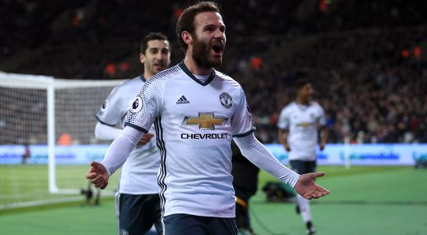 Juan Mata's opener put Manchester United on their way to all three points at West Ham