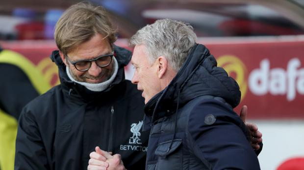 Liverpool manager Jurgen Klopp (left) was not a happy man after his side's 2-2 Premier League draw at Sunderland