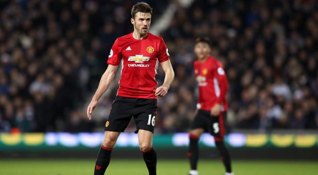 Michael Carrick was in typically industrious form against West Ham