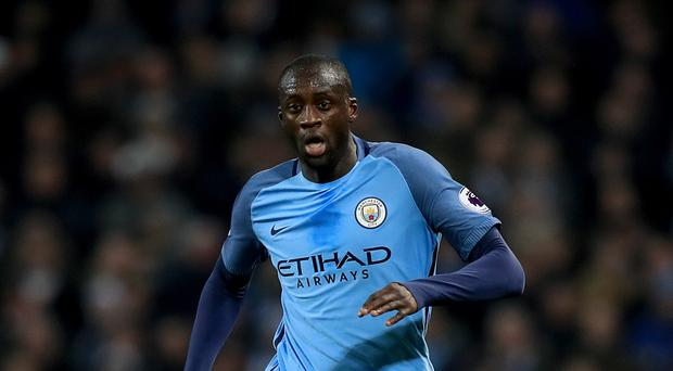 Yaya Toure is fully focused on Manchester City's title challenge
