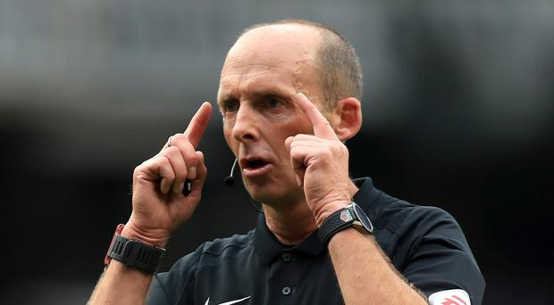 Mike Dean has come in for criticism