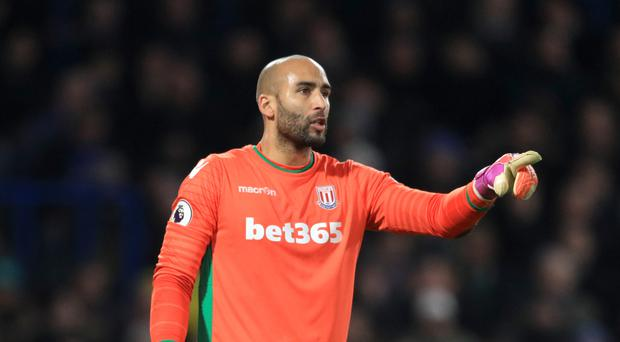 Stoke have signed goalkeeper Lee Grant from Derby for £1.3million.