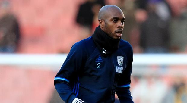 West Brom's Allan Nyom joined the club from Watford in the summer.