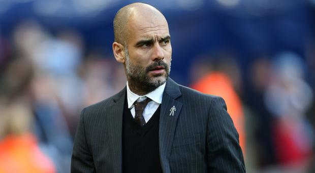 Pep Guardiola took over at Manchester City in the summer