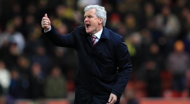 Stoke City manager Mark Hughes is dreaming of Wembley