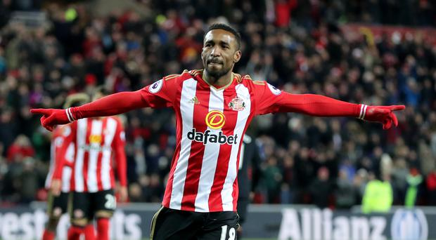 Sunderland striker Jermain Defoe is in demand after scoring 11 times in the Premier League this season