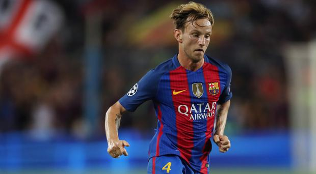 Ivan Rakitic has been linked with a move from Barcelona to Manchester City