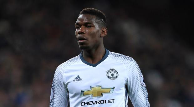 Manchester United's Paul Pogba missed out on a place in FIFA's team of the year for 2016