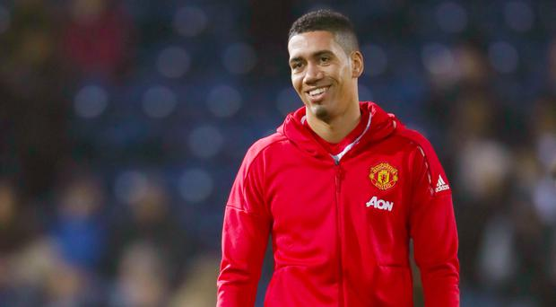 Chris Smalling has recovered from a broken toe