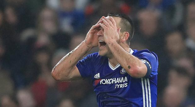 Chelsea defender John Terry will serve a one-match suspension