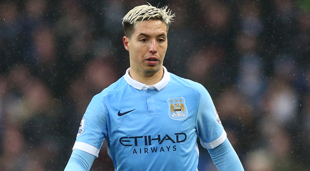 City midfielder Samir Nasri, who is playing on loan at Sevilla this season, is already facing the prospect of a four-year ban over his visit to an intravenous therapy clinic last month Picture: PA