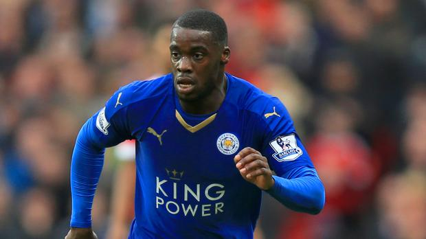 Jeff Schlupp has played just nine times for Leicester this season.