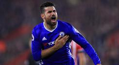 Diego Costa is reportedly a wanted man in China