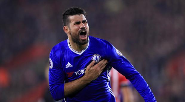 Diego Costa's future at Chelsea is in doubt after he was left out of the squad for Saturday's match at Leicester