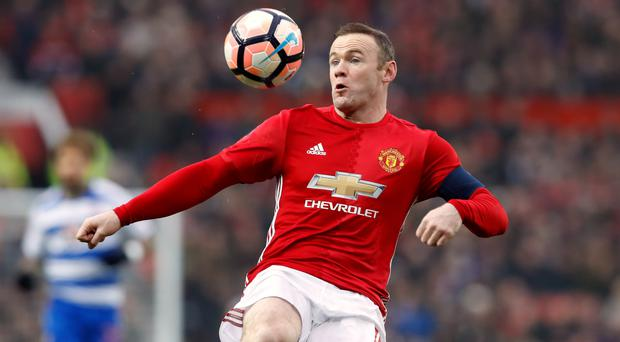 Manchester United's Wayne Rooney will hope to face Liverpool