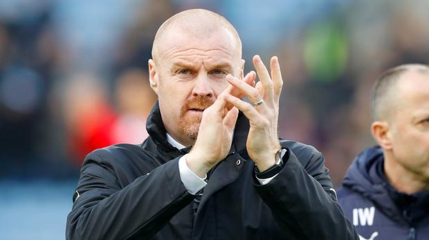 Sean Dyche's Burnley are hoping to stay in the Premier League at the third attempt