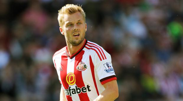Midfielder Sebastian Larsson insists Sunderland had only themselves to blame for defeat by Stoke