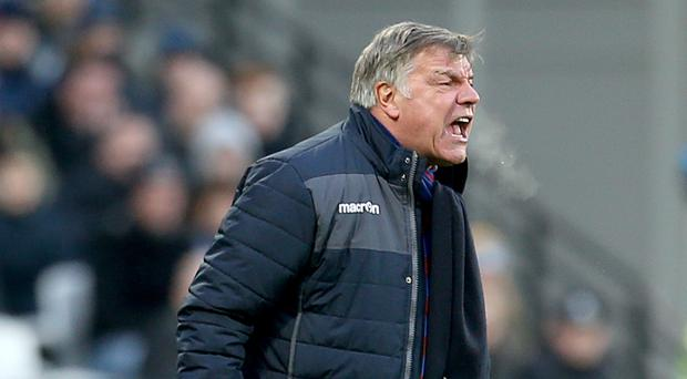Sam Allardyce has yet to win as Crystal Palace manager