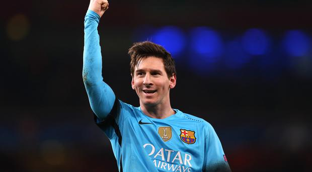 Lionel Messi has again been linked with Manchester City in today's papers