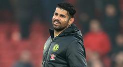 Striker Diego Costa now appears less likely to leave Chelsea for China this winter