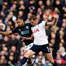 Tottenham defender Jan Vertonghen (right) faces two months out with an ankle injury, according to reports