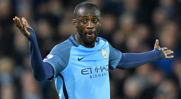Yaya Toure is resisting the lure of the Chinese Super League. Photo: PA